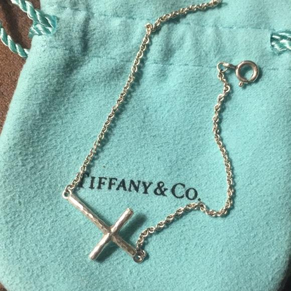 25dfa5a16 Tiffany & Co Paloma Picasso cross bracelet. M_5a976a53a44dbeb80db581ef